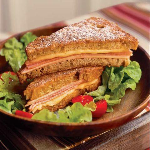 healthy monte cristo sandwich