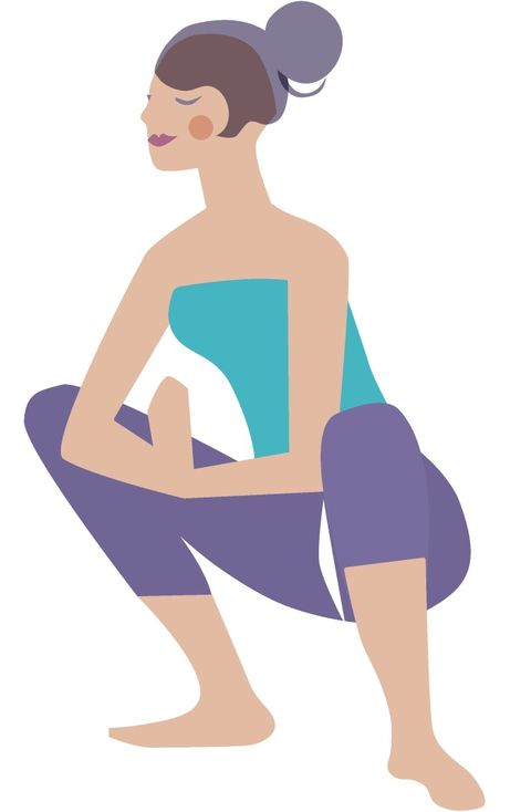 4 Yoga Poses To Help Beat Your Sneaky Leak
