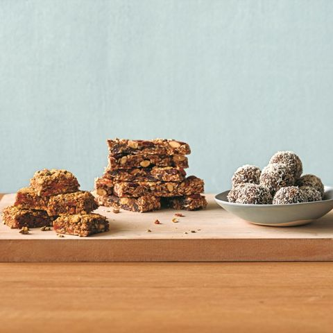 No-Bake Energy Bars And Bites
