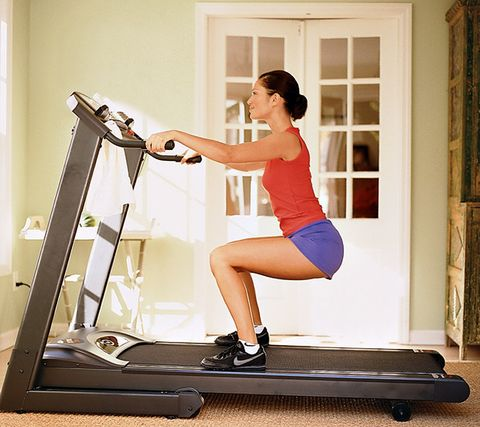 Squat Strength Moves for treadmills