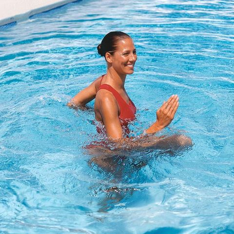 This 30-Minute Water Workout Will Tone Up Your Entire Body