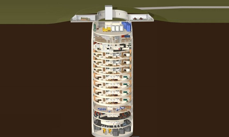 The Luxury Nuclear Missile Silo Where Rich People Ride Out the Apocalypse