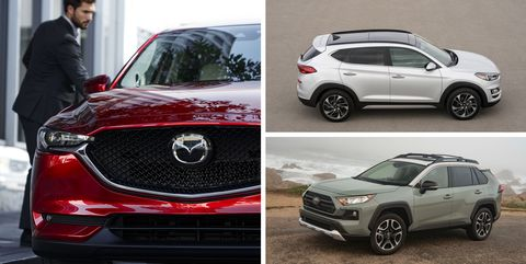Car And Driver Compact Crossovers Suvs
