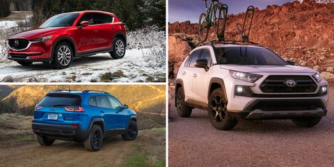 Compact Crossovers And Suvs Ranked