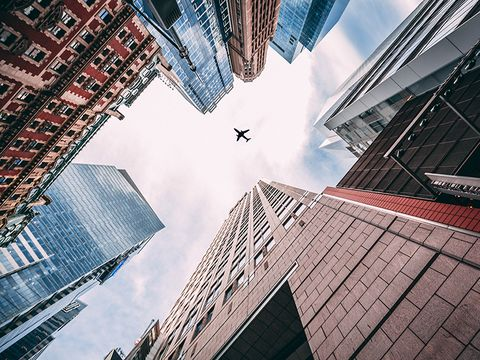 Blue, Daytime, Sky, Urban area, Architecture, Metropolitan area, Skyscraper, Building, City, Metropolis,