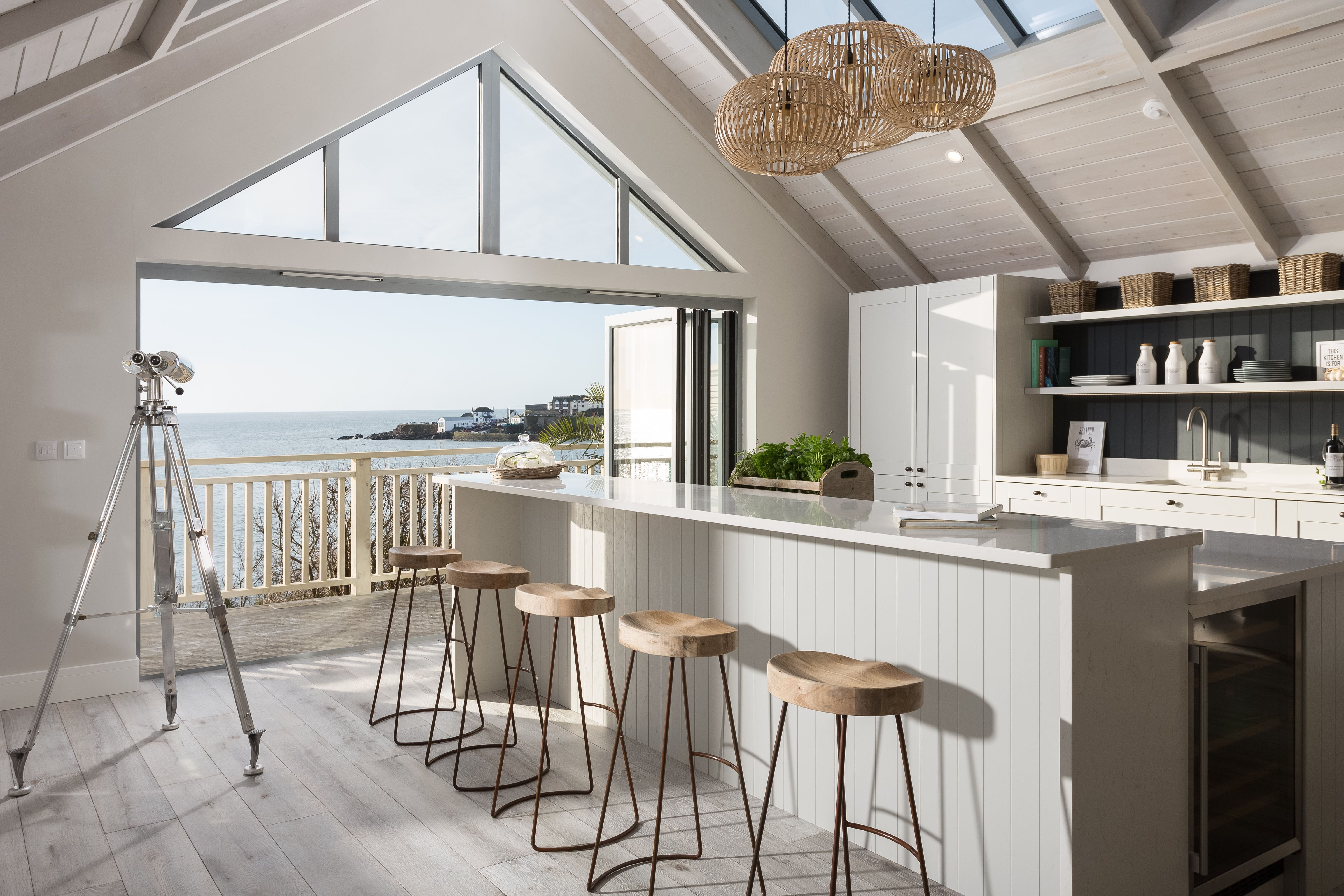 New England Style Beach House In