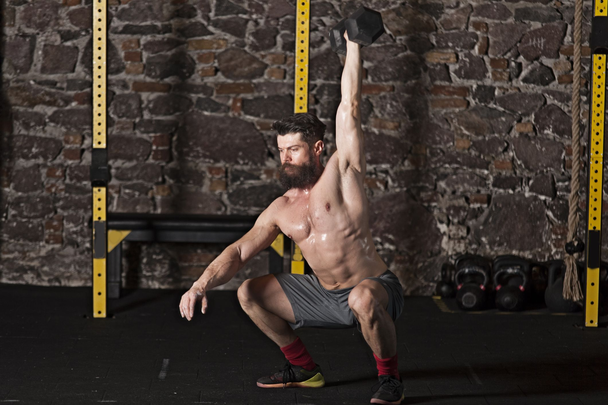 20 CrossFit Dumbbell Workouts   At Home Dumbbell WODs