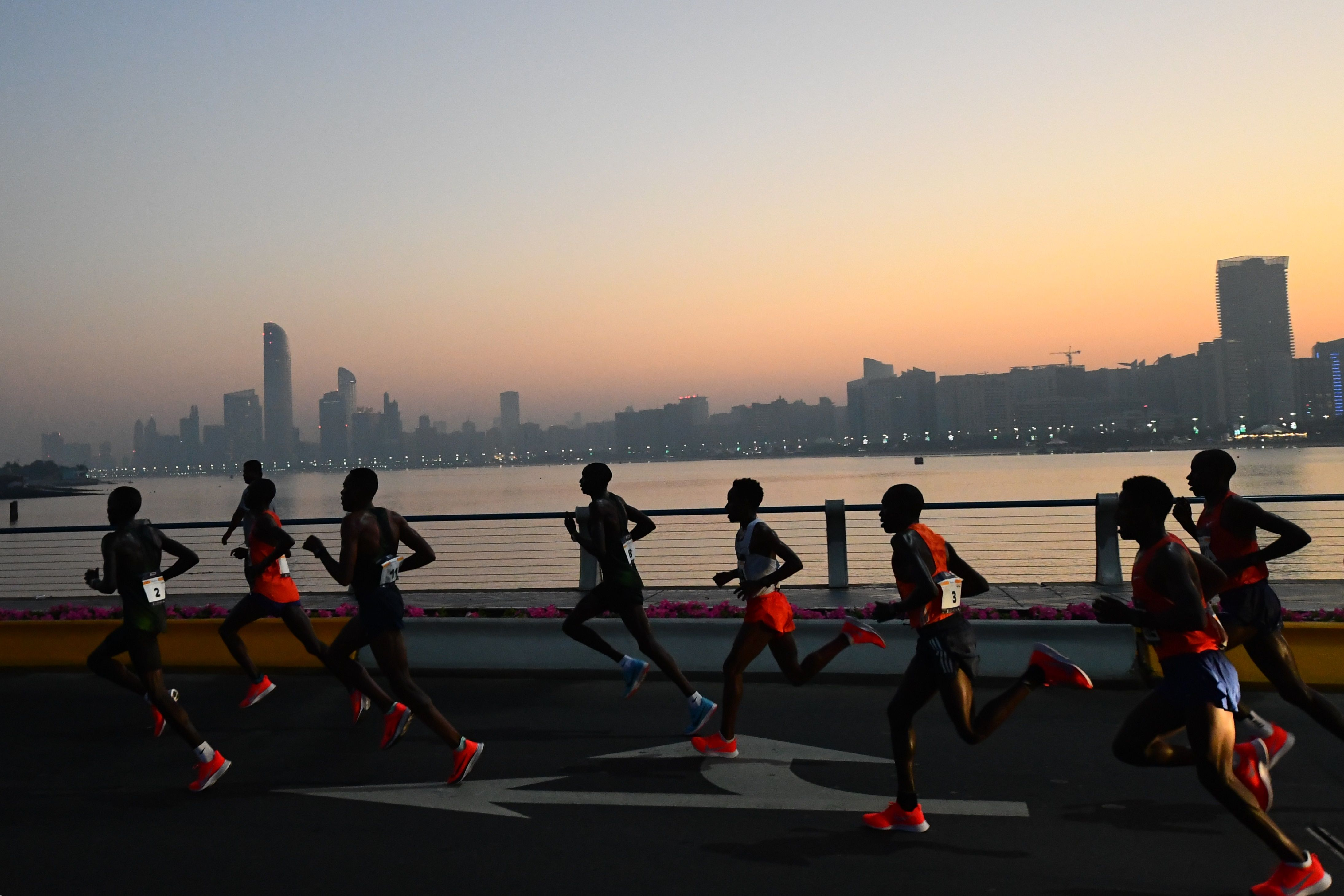 Pacer was meant to drop out at 30K, but goes on to wins Abu Dhabi Marathon