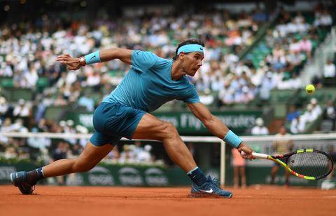 Sports, Tennis, Tennis player, Tennis court, Sport venue, Soft tennis, Sports equipment, Racquet sport, Championship, Racket,