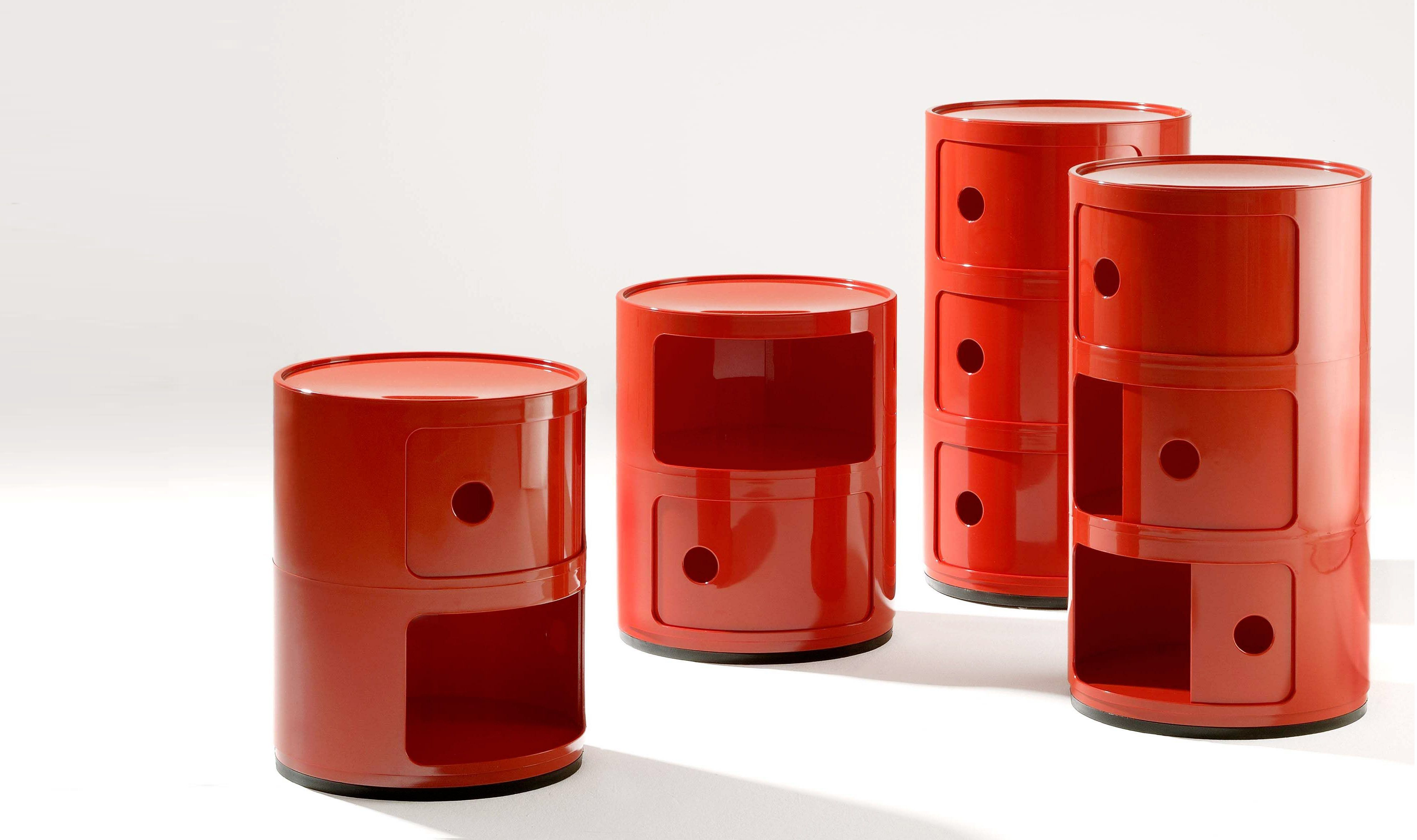 Sedia Kartell Anna Castelli Ferrieri.Kartell S Componibile An Icon Of Design