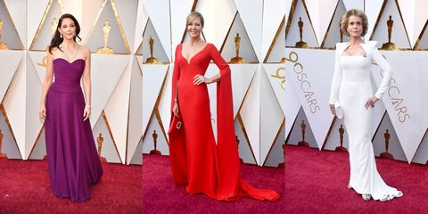 Clothing, Dress, Red carpet, Gown, Carpet, Red, Flooring, Formal wear, Fashion, Bridal party dress,