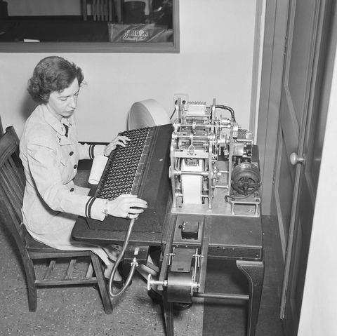 Grace Hopper with Early Computer