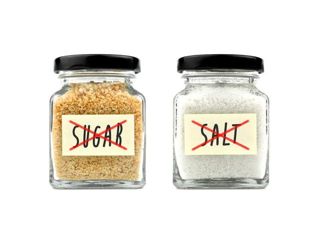 salt versus sugar