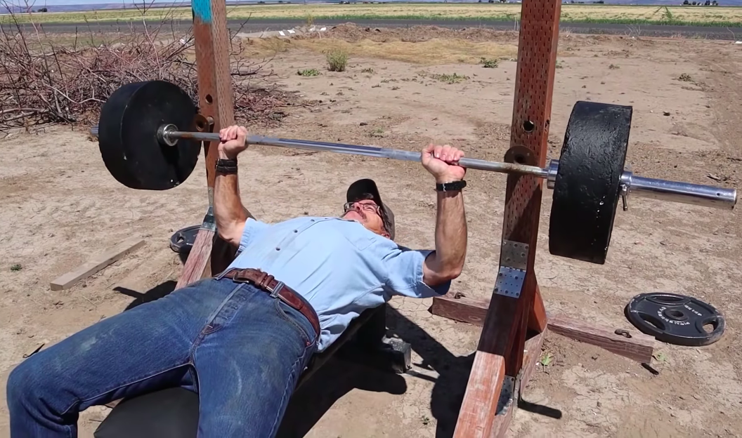 Watch This Guy Demonstrate How to Make DIY Weight Plates Out of Concrete