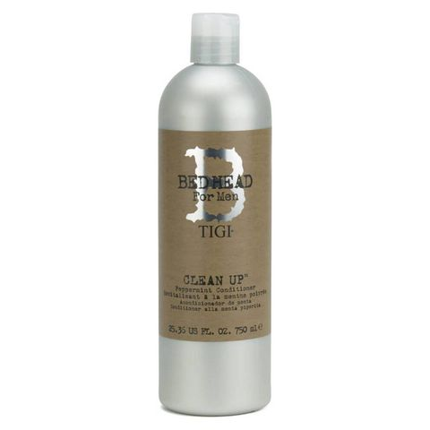 tigi    bed head   for men   clean up   peppermint  conditioner