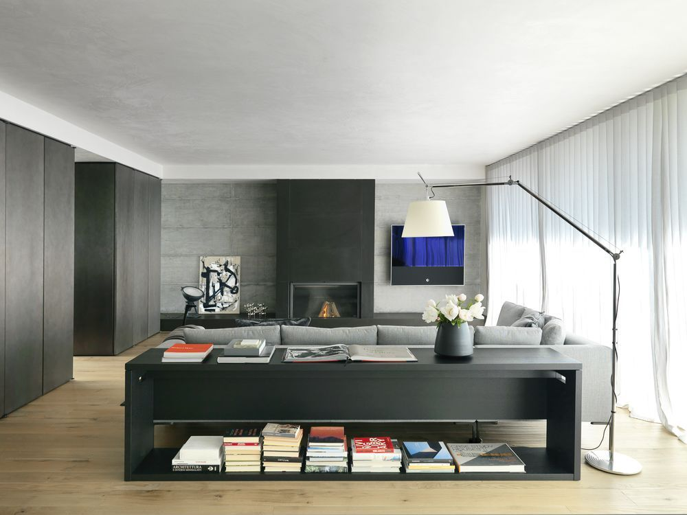 A modernist Italian home with a simple, elegant aesthetic