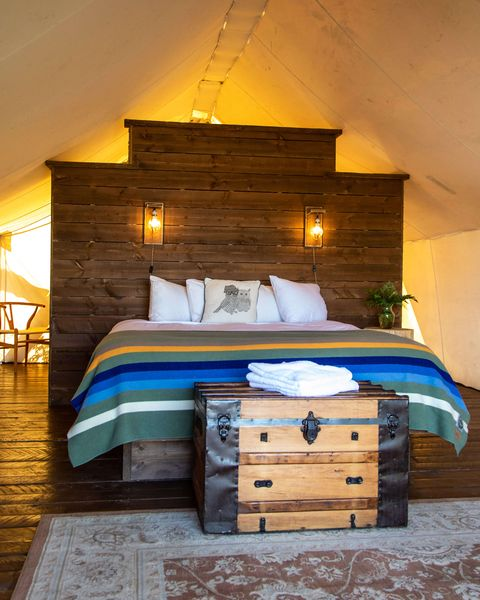 conestoga ranch best glamping destinations