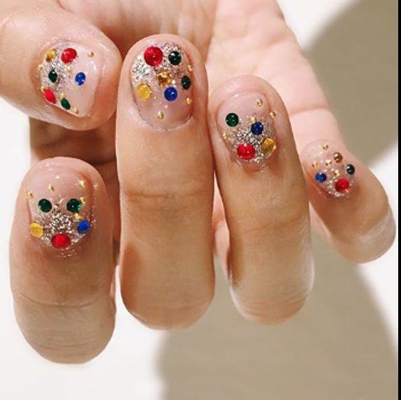 Confetti Nail Art Trend