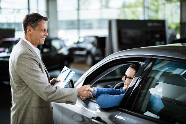 congratulations for buying a new car