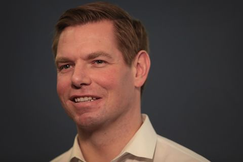 California Congressman Eric Swalwell Holds Event In Iowa