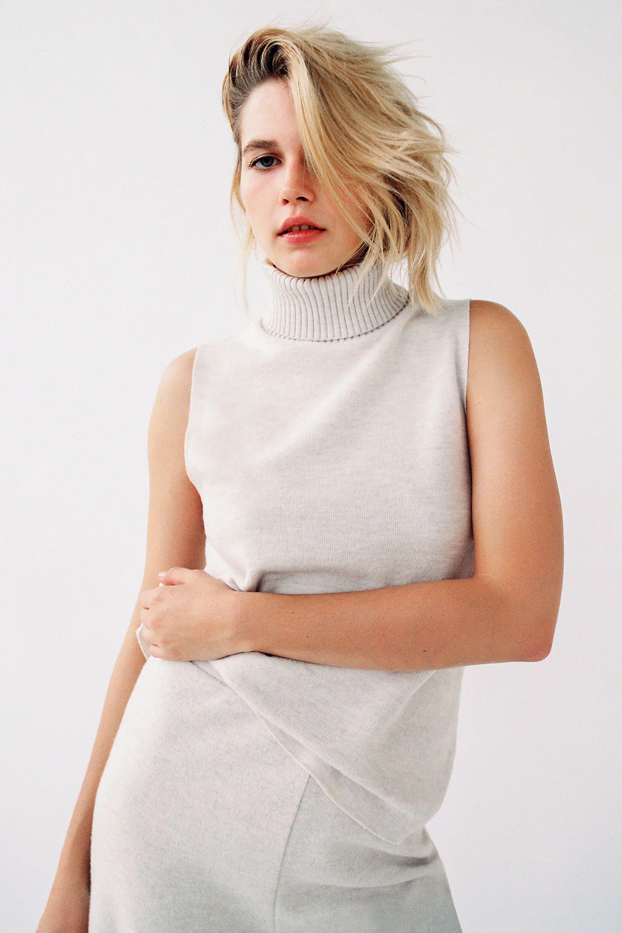 El Conjunto De Punto De Zara Que Salio En Una Portada De Elle