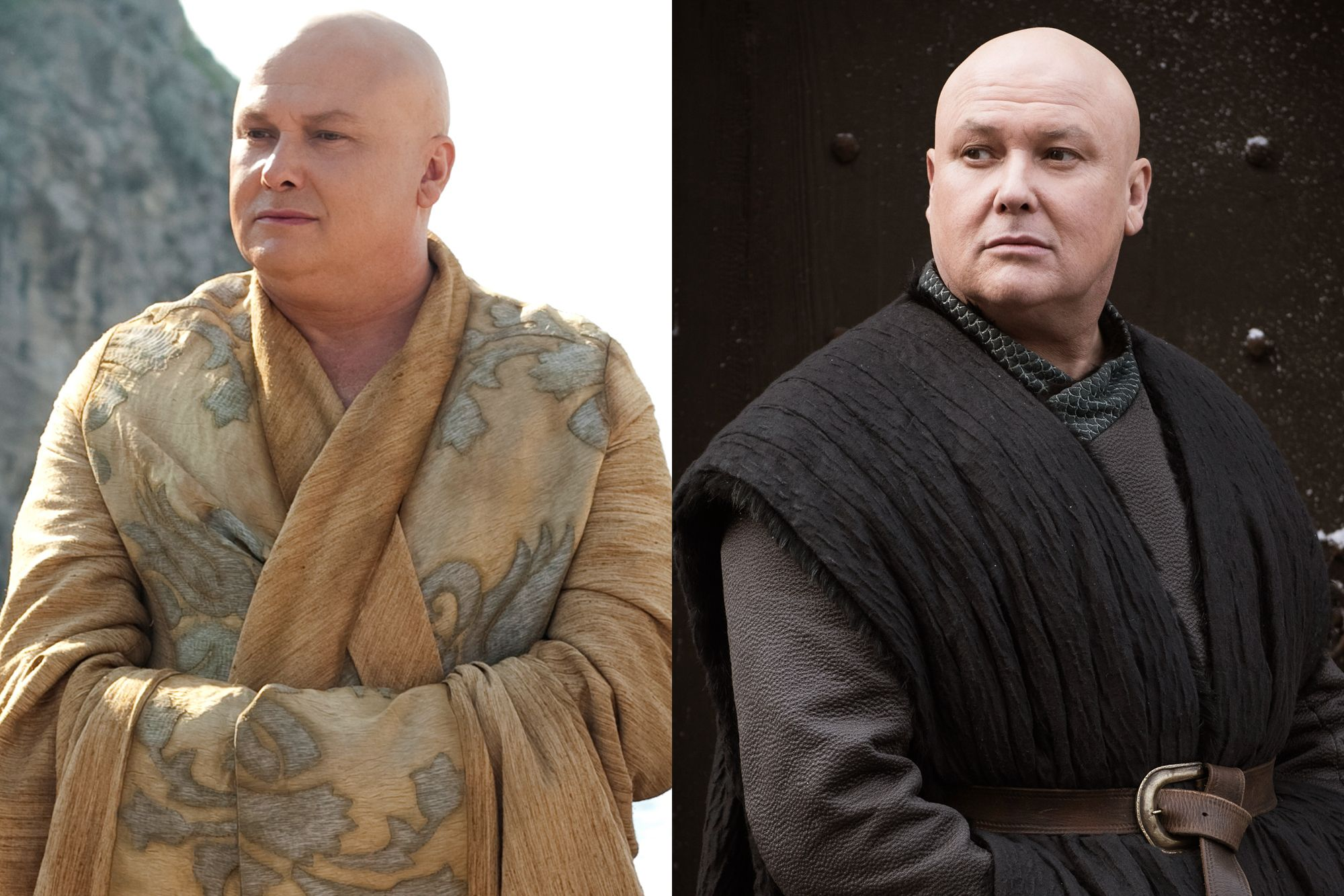 Conleth Hill as Varys Season One to Season Eight.