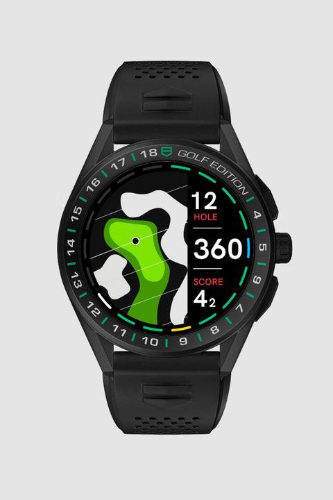 reloj connected watch golf edition de tag heuer