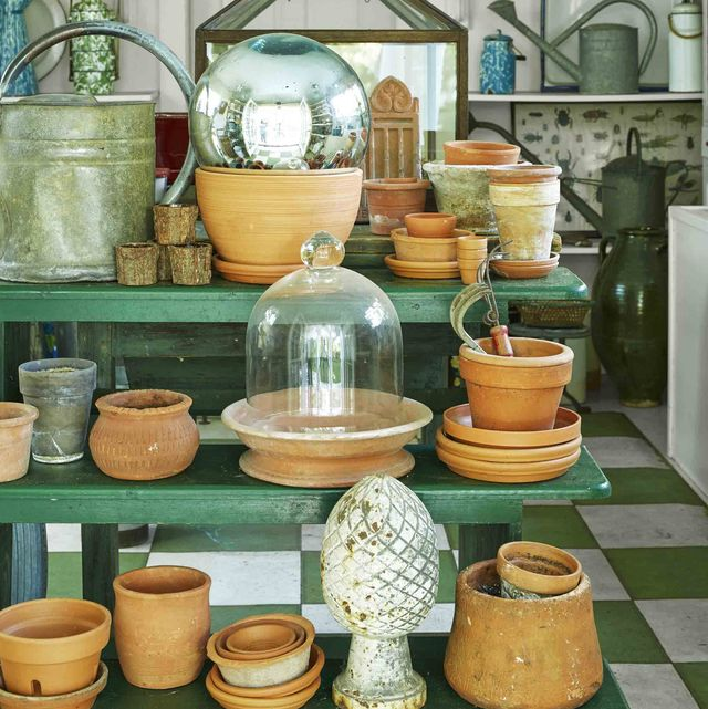 connecticut garden pots cloches watering cans