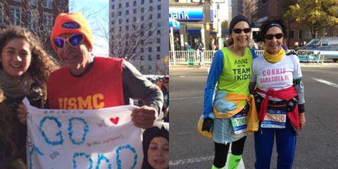 NYC Marathon Streakers