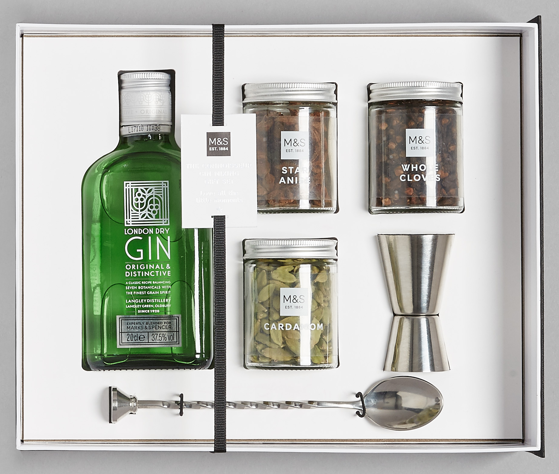 Connoisseur Gin Mixing Kit, £25, marks & Spencer