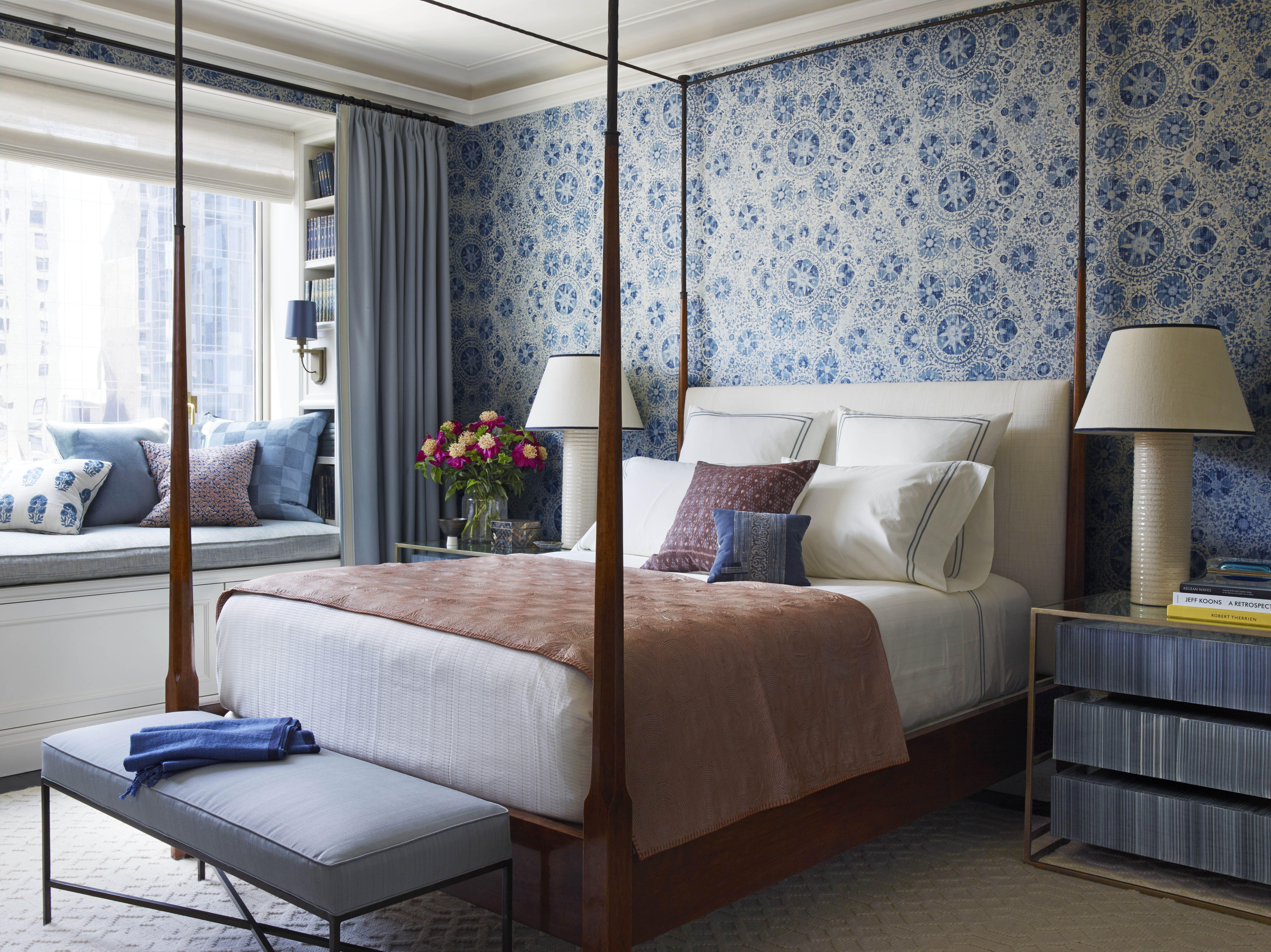 9 Best Bedroom Wallpaper Ideas - Designer Wallpaper for Bedrooms