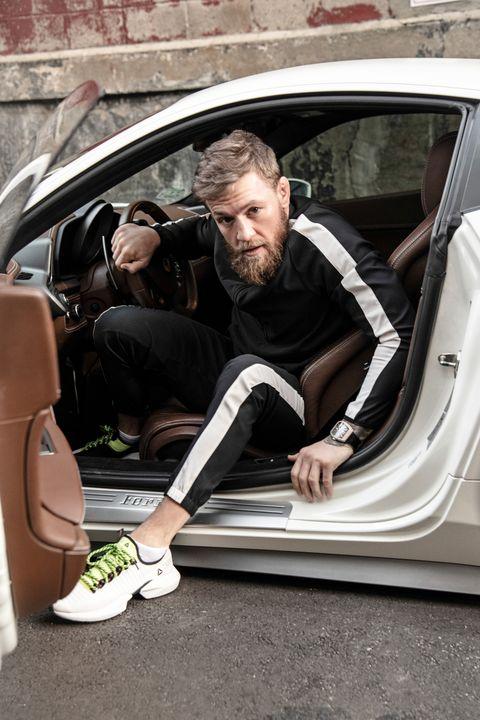 Conor Mcgregor And Reebok Launch Sole Fury Sneaker 2018