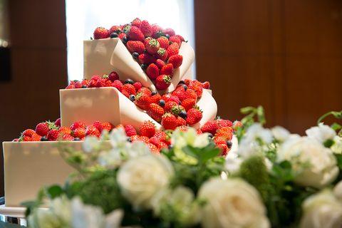 『コンラッド東京』のウエディング・ケーキ