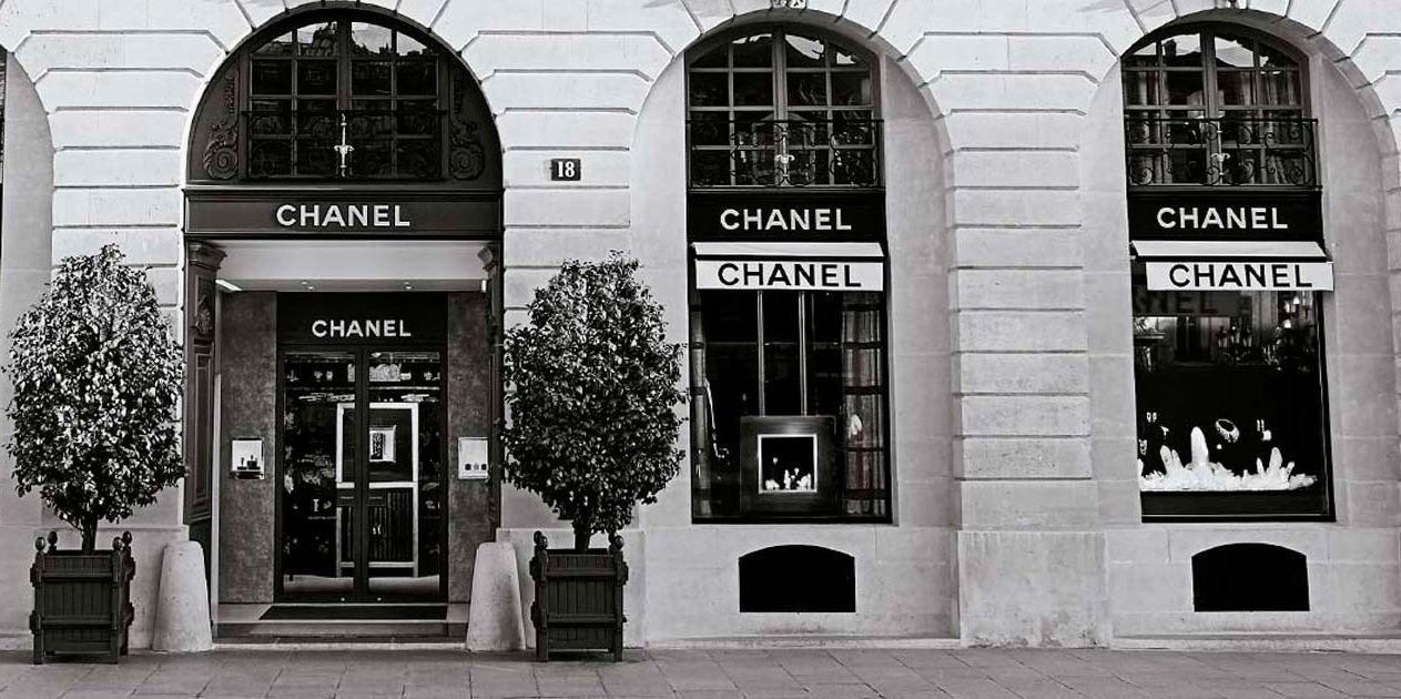 Nieuwe Chanel boetiek aan Rue Cambon 19 in Parijs