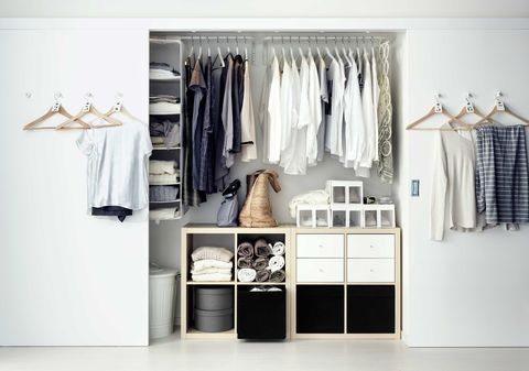 Consejos para mantener un armario organizado