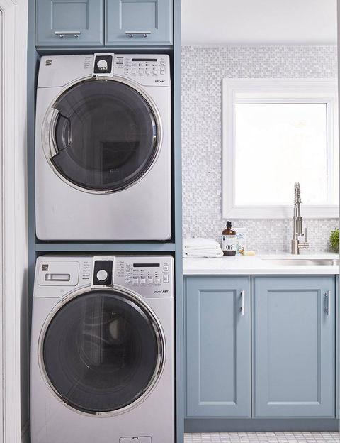 Consejos para crear un cuarto de lavado y plancha en casa. Proyecto de Soda pop design