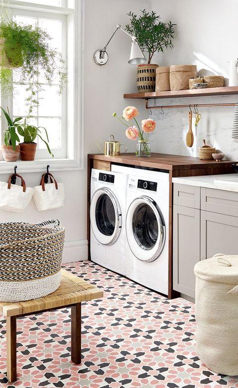Cómo montar un cuarto de lavado en casa