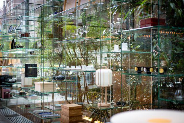 conservatorium brasserie werkt samen het japanse interieurmerk time style