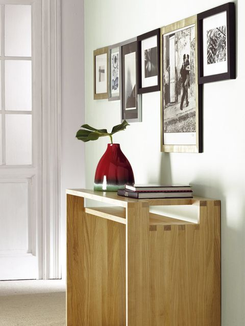 Furniture, Room, Sideboard, Interior design, Table, Material property, Chest of drawers, Wood, Plywood, House,
