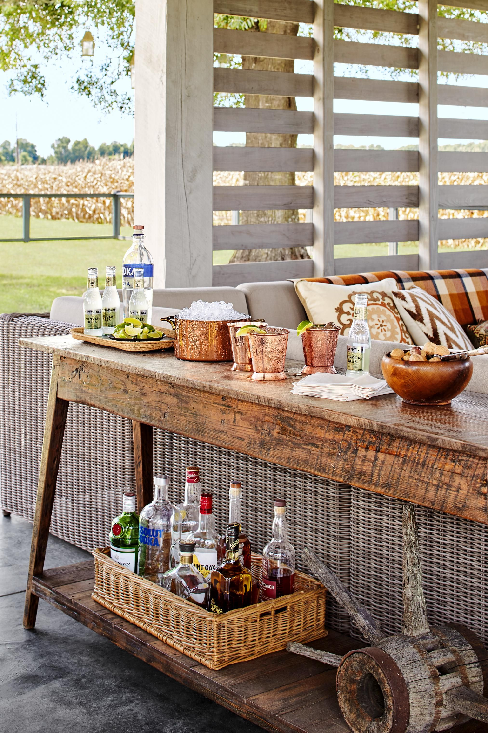 Picture of: 20 Home Bar Ideas Small Home Coffee Bar Ideas