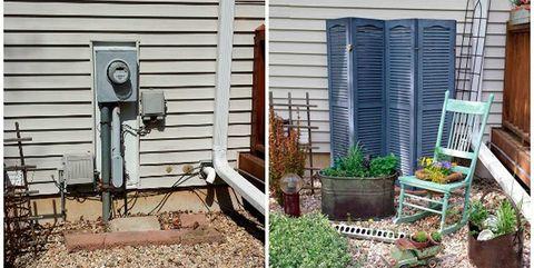 Yard, Backyard, Property, Garden, Wall, Home, Landscape, House, Landscaping, Grass,