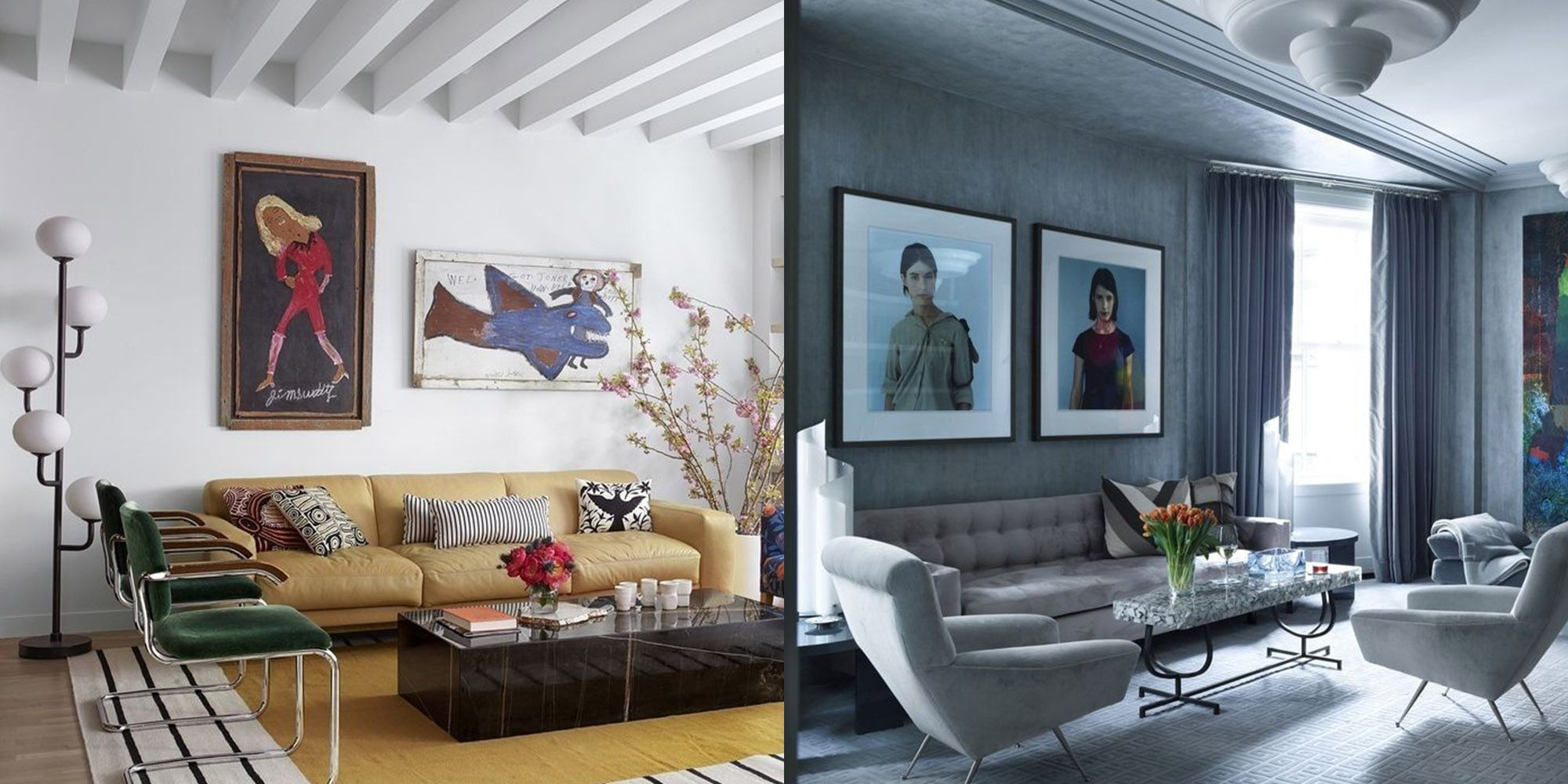 contemporary vs modern design