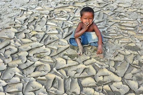 """""""Dryness"""" de Chinmoy Biswas, India - ganador del Premio Clima Cambiante"""