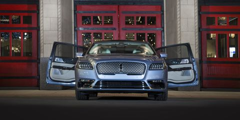 2019 Lincoln Continental Suicide Doors Coach Doors On