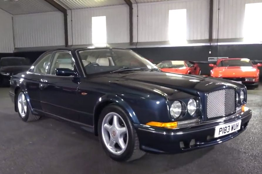 A 1997 Bentley Continental T Is as Opulent as It Is Torquey