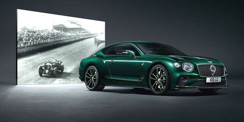 bentley continental gt number  edition celebrates  brands centenary