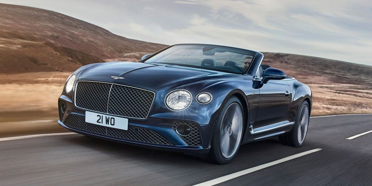 Bentley Continental GT Speed Convertible: Placer a cielo abierto