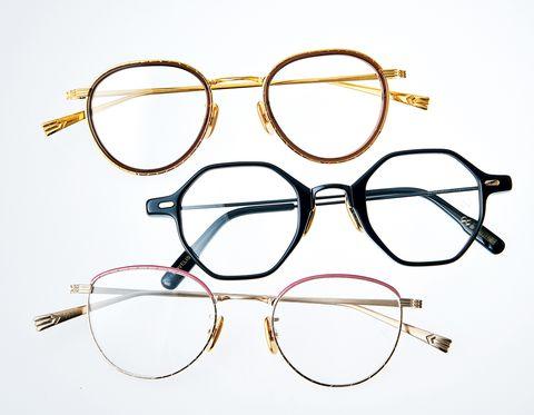 「オージー・バイ・オリバー・ゴールドスミス」の「職業シリーズ」眼鏡