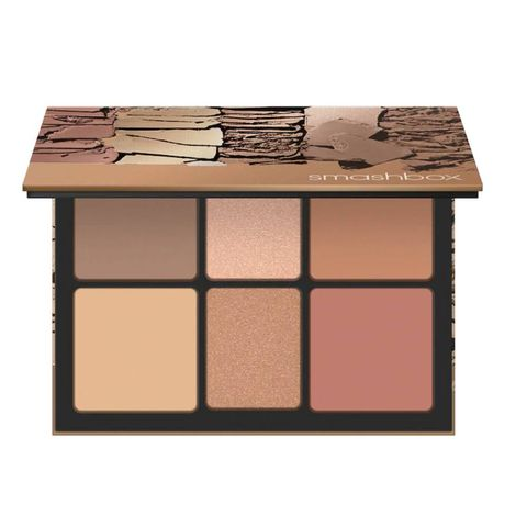 smashbox the cali contour palette contouring