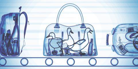 Blue, Bag, Handbag, Font, Fashion accessory, Shoulder bag, Luggage and bags, Illustration,